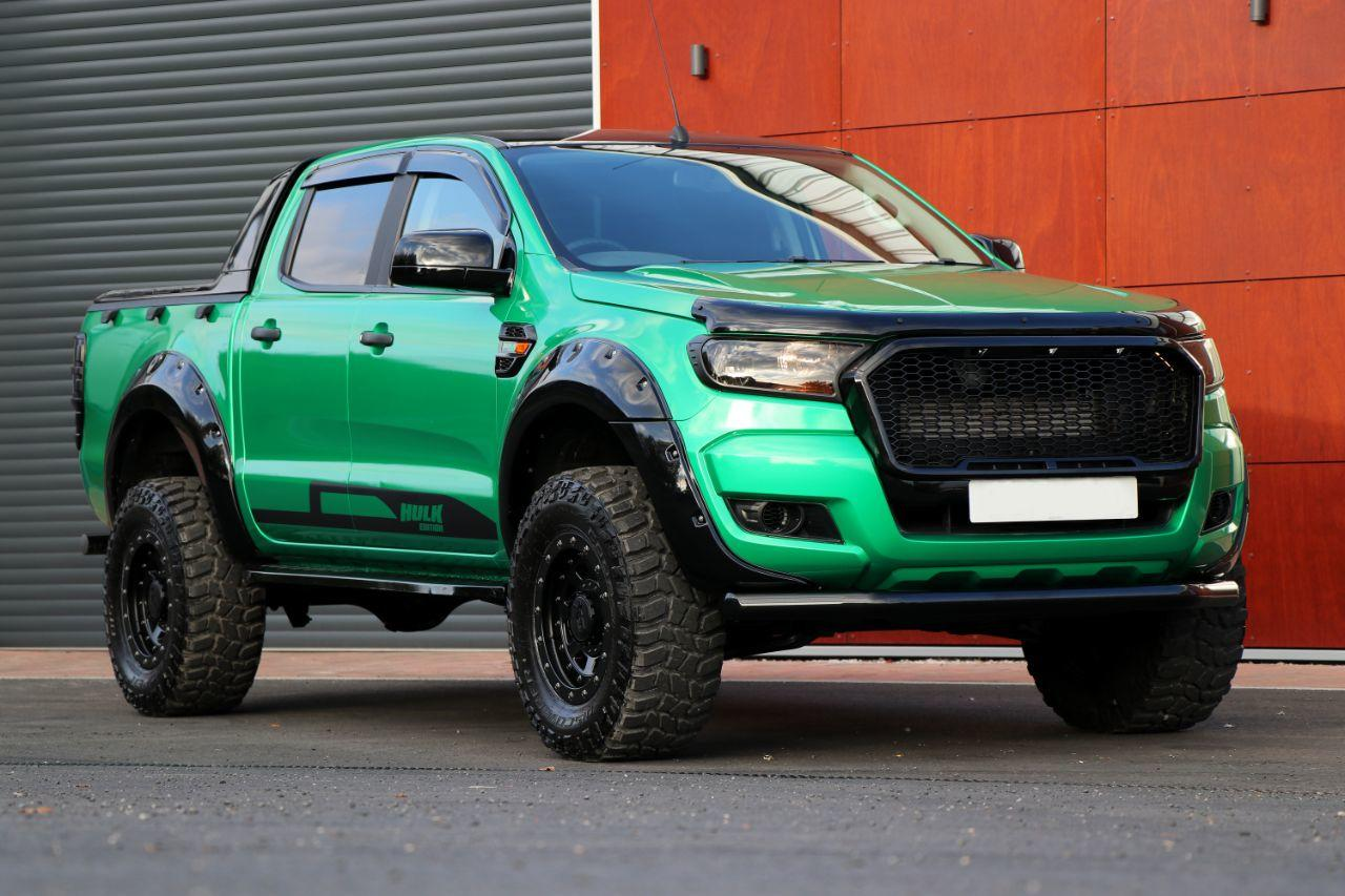 2016 Ford Ranger 2.2 Seeker Raptor Hulk edition Pick Up Double Cab T7 with  over 8k style spend