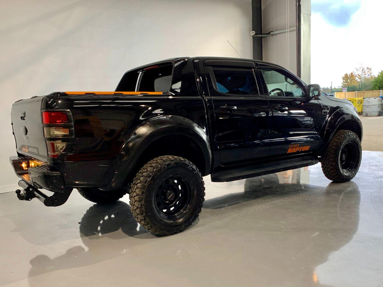 2016 Ford Ranger Seeker Raptor Pick Up Double Cab Limited 2 2.2 TDCi  Uprated to 200 BHP  with 5k style pack