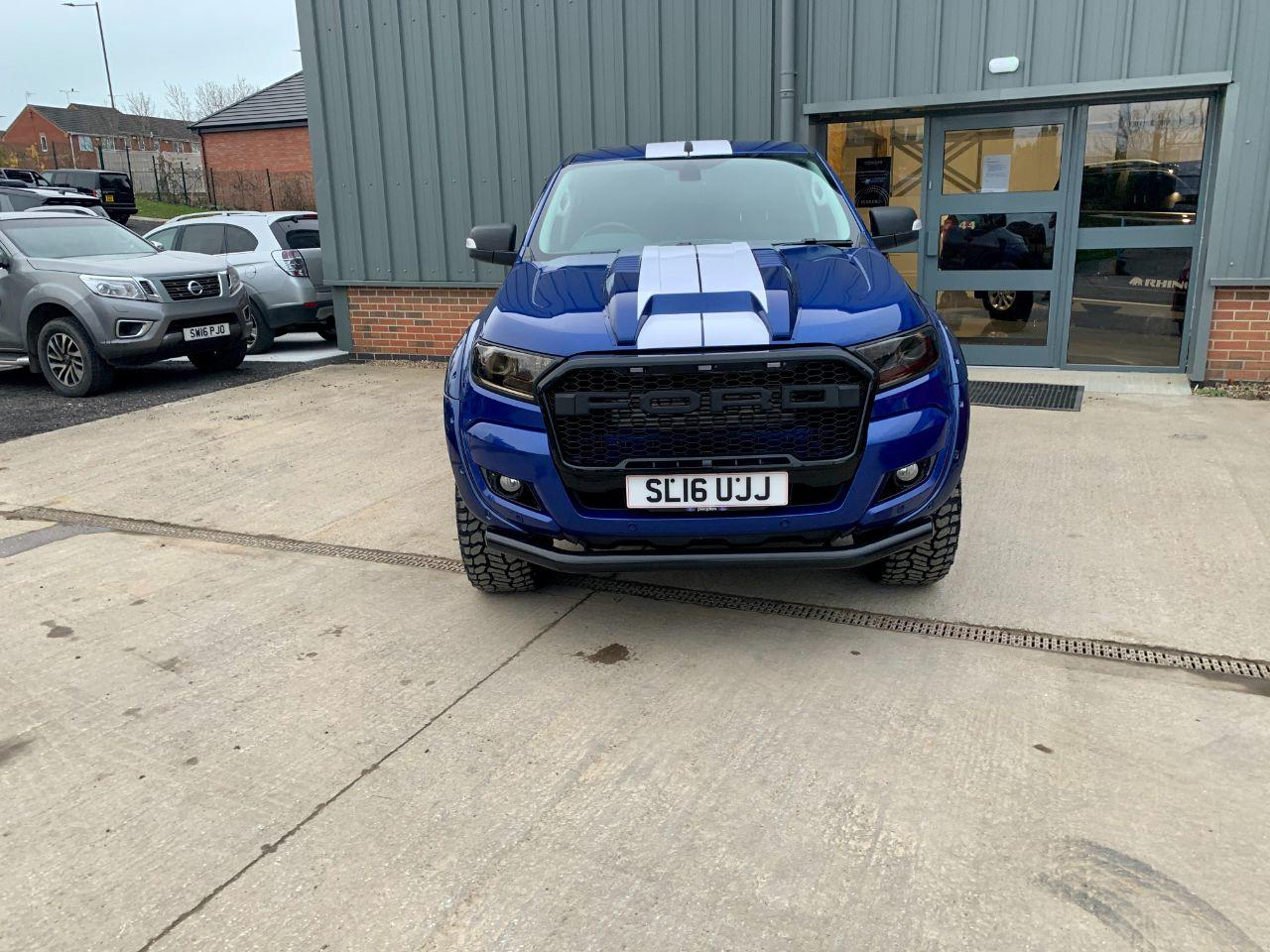 2016 Ford Ranger Seeker raptor GT edition Pick Up Double Cab Limited 1 3.2 TDCi 250 BHP UPRATED BEAST