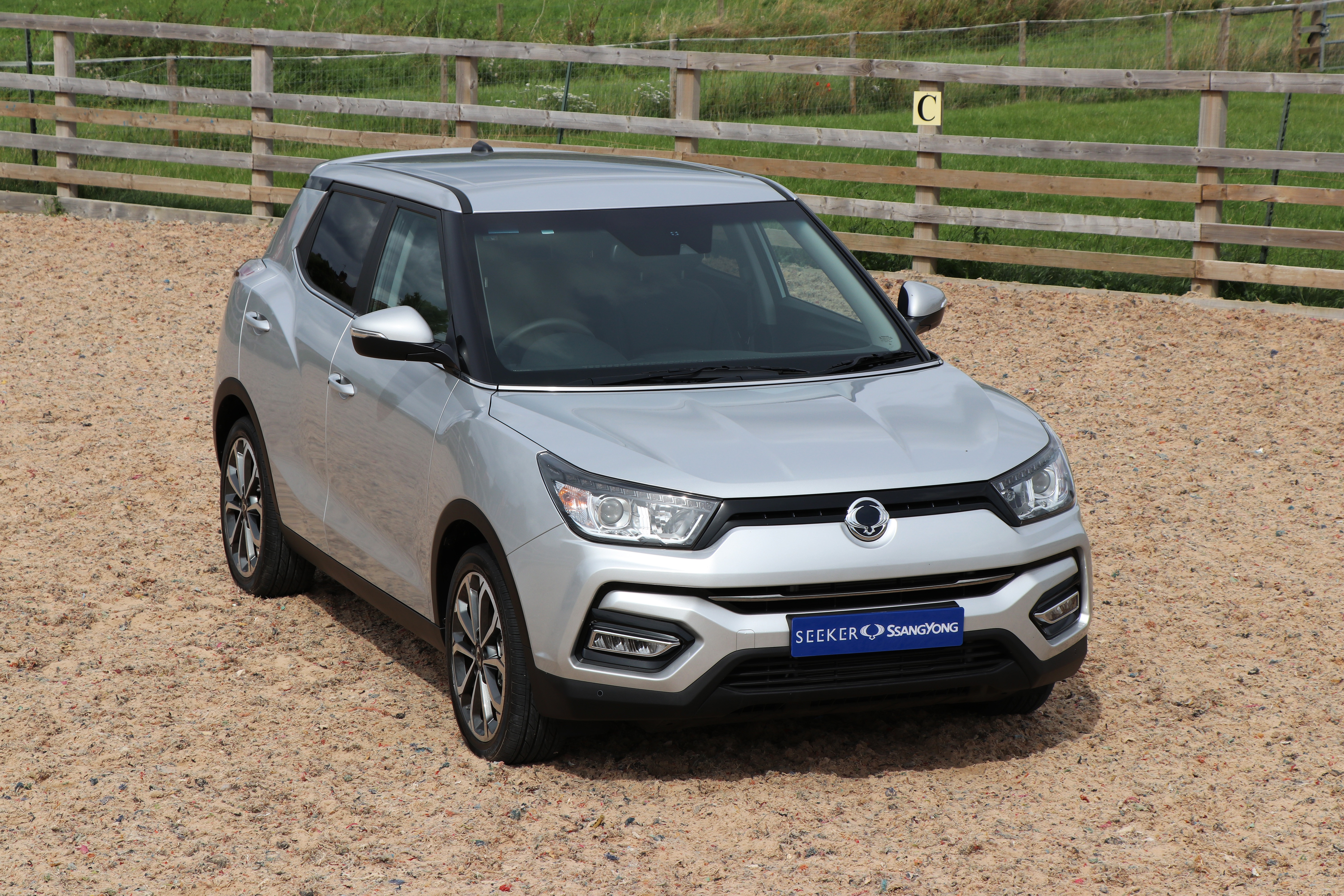 Save £3,000 on a brand new Tivoli Ultimate Petrol at Seeker SsangYong!  Limited stock!