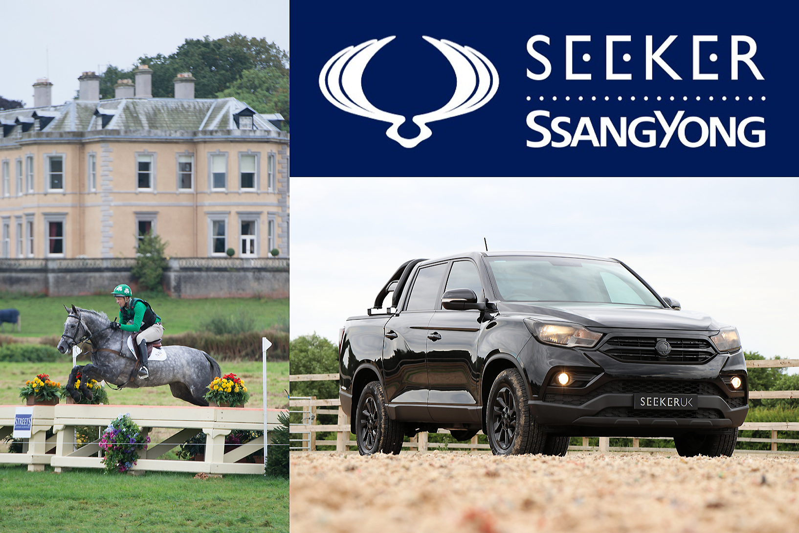 Seeker SsangYong to sponsor the Osberton International Horse Trials 2019 - book your test drive now!