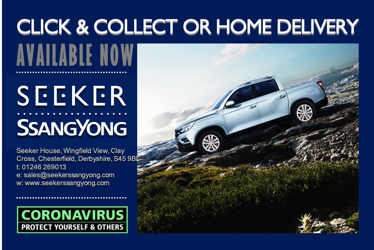 Click and Collect or Home Delivery Service from Seeker SsangYong!
