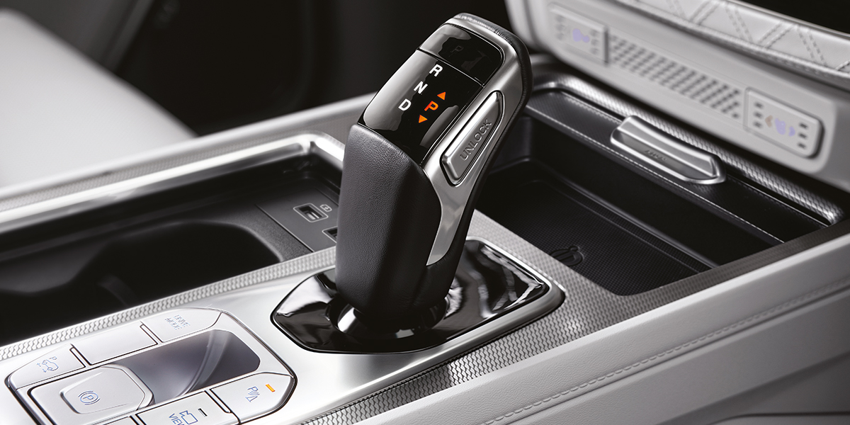 rexton - 8 speed Automatic Transmission